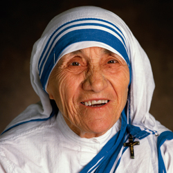 Mother Theresa is declared a Saint today!