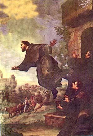 The Flying Frier, St. Joseph of Cupertino